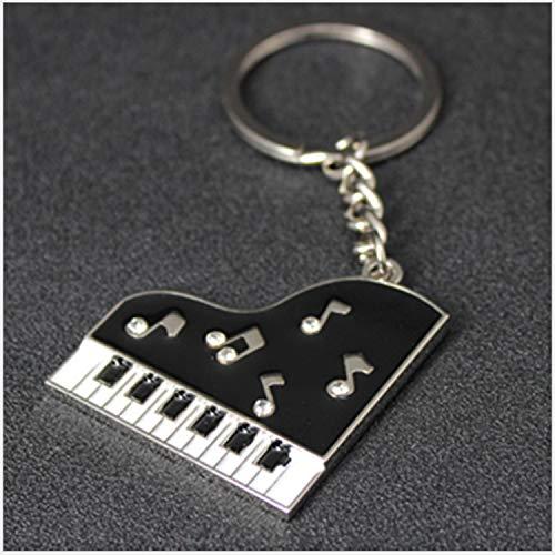 Schlüsselbund Anhänger Mini Kleine Piano Metal Alloy Geprägte Event Geschenk Persönlichkeit Schlüsselanhänger Set Von 10 Stücken