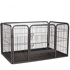 Doggy Style Heavy Duty Whelping With Abs Tray Puppy Play Pen