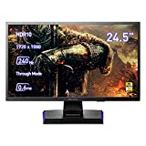 Gaming Monitor Gigacrysta by I-O Data GC-251UXB, 24.5 Pulgadas, PS5, 240Hz, 0.6ms, HDMI 2.0 x 2, Display Port, Altura Regulable. [Clase de eficiencia energética F]