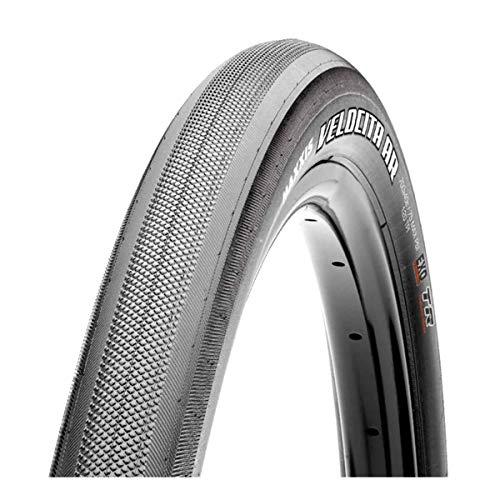 Maxxis Velocita Tire: 700 x 40mm, Folding, 120tpi, Dual Compound, EXO Protection, Tubeless Ready, Black