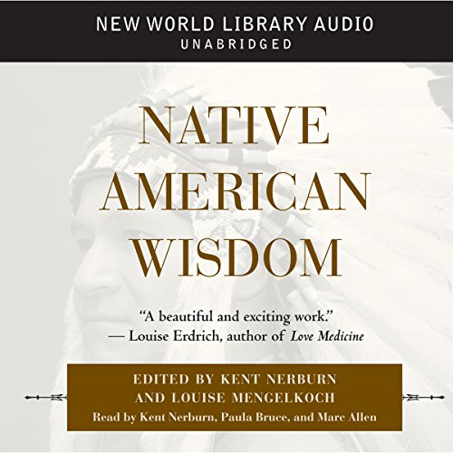 Native American Wisdom audiobook cover art