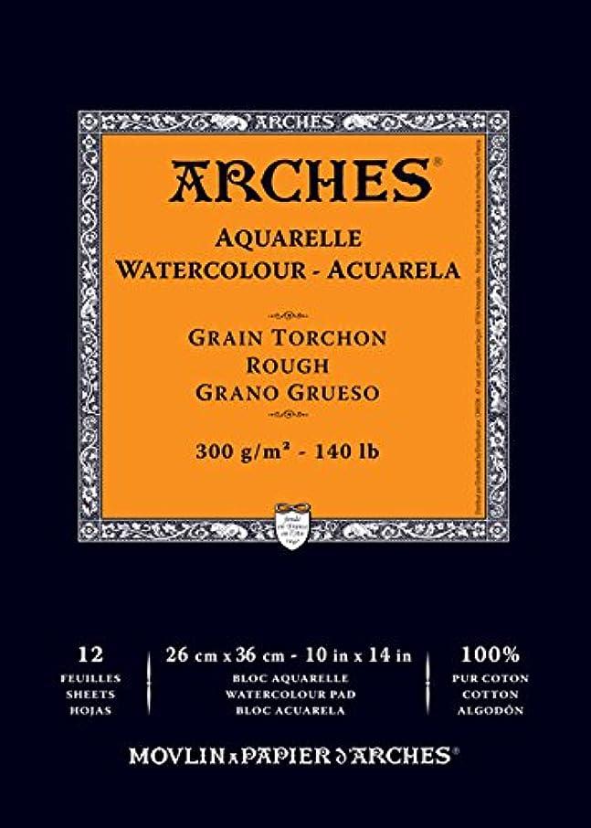 Arches Watercolor Paper Pad, 140 pound, Rough, 10