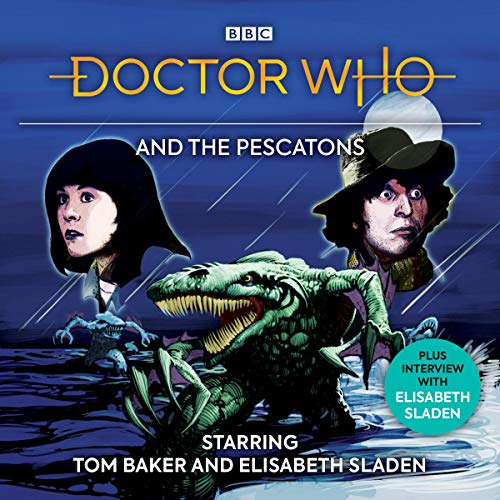 Doctor Who and the Pescatons audiobook cover art