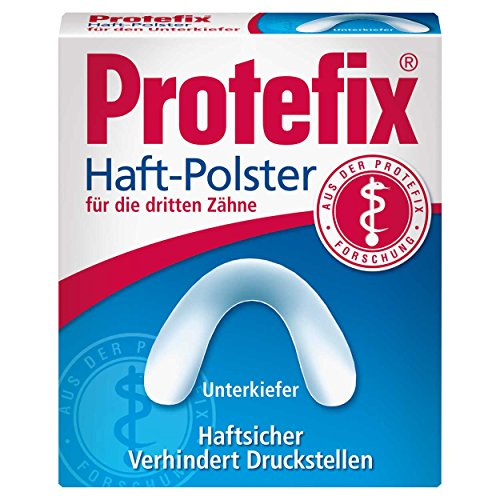 Protefix Haft-Polster 30 Stück Packung für Unterkiefer, 2er Vorteilspack (2x 30 Stück)