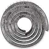 Tucireat Burlete Adhesivo Burlete Ventana Corredera Burlete Ventana Burletes para Puertas Burlete Bajo Puerta Tira de Sellado para Puertas Burlete Adhesivo (Gris 10M)