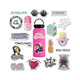 The Carefree Bee - 20 Feminist Stickers for Water Bottles, Laptops (Series 2)