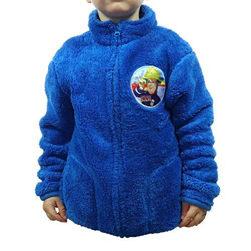 Fleecejacke mit Reißverschluss und Seitentaschen für Kinder, große Auswahl für Jungen und Mädchen TVM Europe (Blau, 98-104)