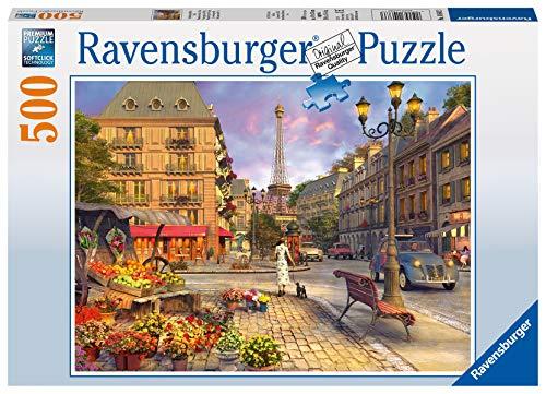 Ravensburger - 14683 3 - Puzzle - Promenade dans Paris - 500 Pièces