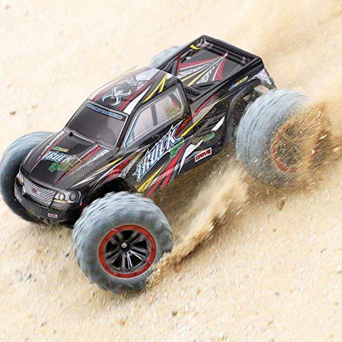 RC Truck Body Shell, Robuster PC RC Car Body Shell für XLH 9125 1/10 Skala RC Truck DIY Teil Upgrade Zubehör( Rot + Schwarz)