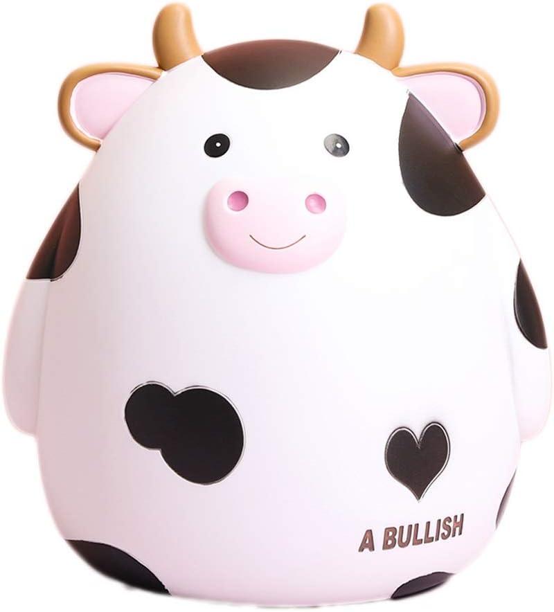 WM home Piggy Bank National uniform free shipping Max 56% OFF Cute Savings Cartoon Toy Keepsake Cow Pi