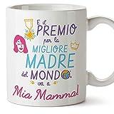 Mugffins Tazza Mamma - E Il Premio per la Migliore Madre del Mondo va a mia Mamma (Modello 3) - Idee Regali Originali Festa della Mamma