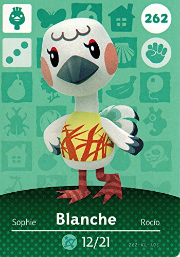 Nintendo Animal Crossing Happy Home Designer Amiibo Card Blanche 262/300 USA Version