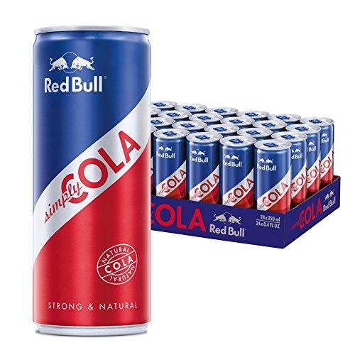 Red Bull Simply Cola, 24er Pack, EINWEG (24 x 250 ml)