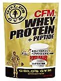 ゴールドジム(GOLD'S GYM) CFMホエイプロテイン リッチミルク風味 900g