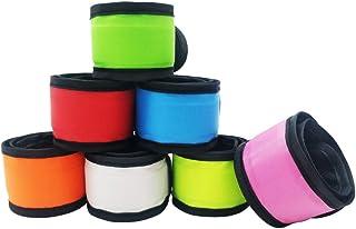 Sponsored Ad - Aoparada LED Light Up Armband Reflective Gear Lights Slap Bracelets for Women Men Kids Night Running Dog Wa...