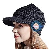 JYPS Bluetooth Beanie Hat, Sombreros de Invierno de Punto inalámbricos para Mujeres Niñas Sombrero de Pico Sombrero de música Regalo de Auriculares navideños con Altavoces estéreo incorporados Unisex
