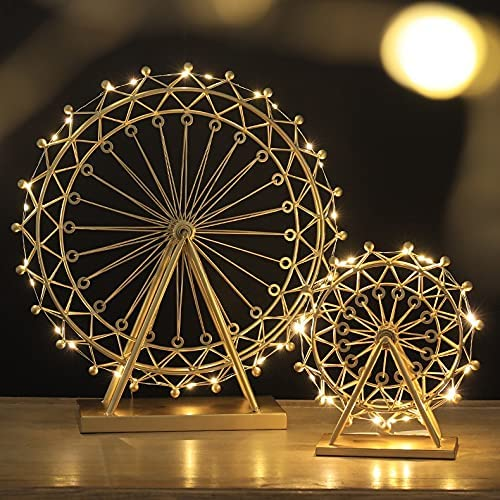 Metal Ferris Wheel Max 59% OFF A surprise price is realized with Led Night Light Showpiece Kit H Figurine