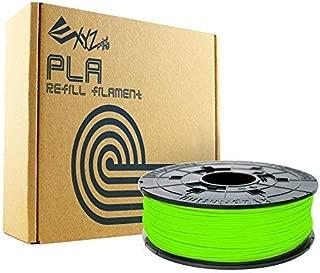 XYZprinting RFPLBXUS0AF Da Vinci Series PLA Refill Spool, Neon Green