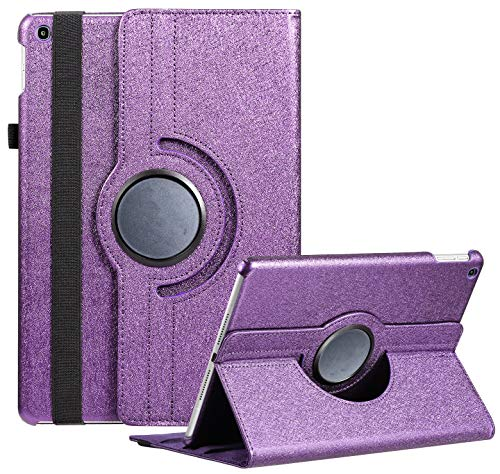 Case for Samsung Galaxy Tab A 10.1 2019, 360 Degree Rotating Stand Smart Case for Samsung Tab A 10.1 Inch Tablet [SM-T510/T515] 2019 Release (Purple)