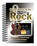 How to Play Hard, Metal & Nu Rock: Easy-to-use, Easy-to-carry, over 100 Examples...
