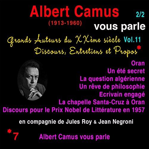 Couverture de Albert Camus vous parle 2