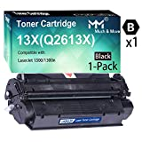 1-Pack High Yield Black Compatible 13X 13A 2613X Toner Cartridges Q2613X Used for HP Laserjet 1300 1300N 1300XI Laser Printer, Sold by MuchMore