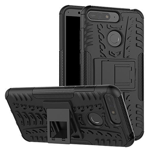 Honor 7A / Huawei Y6 2018 / Y6 Prime 2018 Case, FoneExpert Heavy Duty Shockproof Rugged Impact Armor Hybrid Kickstand Protective Bag Cover Case for Honor 7A / Huawei Y6 2018 / Y6 Prime 2018