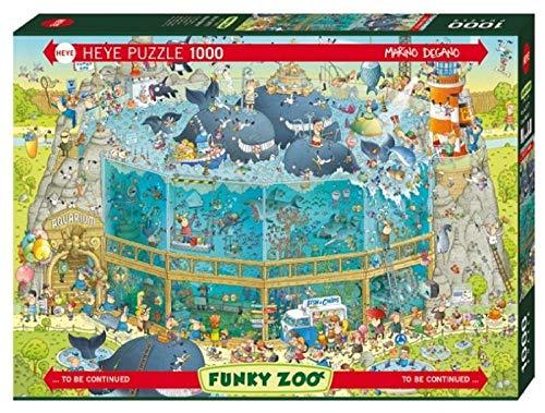 LZLM Jigsaw Puzzle Regalo Descompresión Adulta Rompecabezas Infantil Puzzle 1000 Piezas-Acuario Marino
