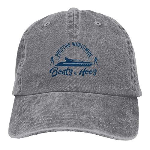 alemon Prestige Worldwide Boote und Hoes Vintage Unisex Denim Hut verstellbare Baseball Cap für Erwachsene