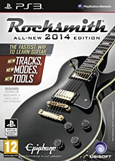 Rocksmith 2014 Edition - Includes Real Tone Cable (PS3) (B00CMJ1IIK)   Amazon price tracker / tracking, Amazon price history charts, Amazon price watches, Amazon price drop alerts