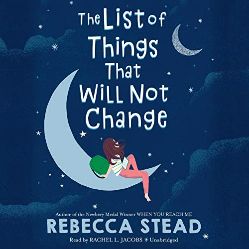 The List of Things That Will Not Change Titelbild