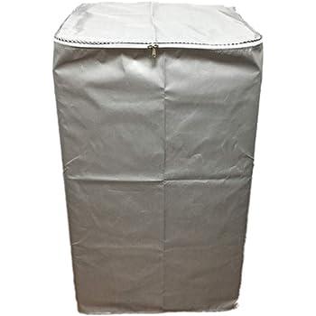 EBISSY 洗濯機カバー 屋外 防水 【 4面 すっぽり 改良版 1年保証 】 シルバーコーティング 紫外線 対策 (ファスナー,XLサイズ:98×64×62)