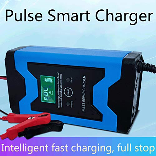 Best Buy! Car Battery Charger, Enhanced Car Battery Charger, 12V/6A Battery Charger, Smart Portable ...