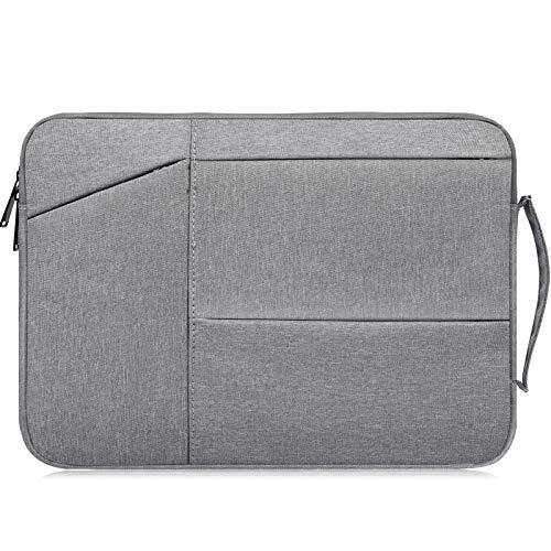 Laptoptasche für Acer Predator Helios 300, Acer Chromebook 15, Acer Aspire E 15, Lenovo Yoga 720/730 15.6, ASUS VivoBook F510UA, HP, Dell Inspiron, 39,6 cm (15,6 Zoll), wasserdicht, Grau