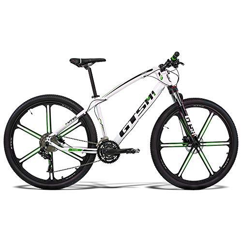 Bicicleta GTS Aro 29 Freio a Disco Hidráulico Câmbio MX9 27 Marchas e Amortecedor com Rodas de Magnésio | GTS M1 I-VTEC MX9 Magnésio