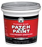 Phenopatch Patch-N-Paint Interior/Exterior Lightweight Spackling - 1 Quart 01511