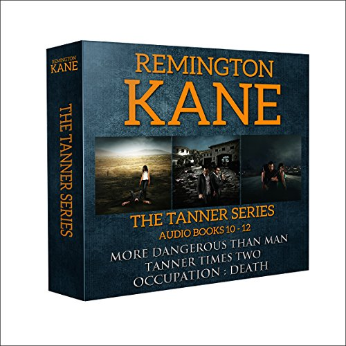 The Tanner Series: Books 10-12 audiobook cover art