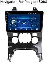 QQHHJY Reproductor De DVD para Coche con Navegación GPS Android 8.1 De 9 Pulgadas para Peugeot 3008 2009 2010-2015 con Bluetooth WiFi | Controles del Volante | 2 DIN |2GB + 32GB |
