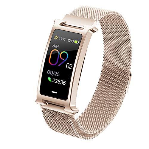 Fitness Tracker Smart Watch - Blutdruck Herzfrequenzmesser Schrittzähler Wasserdichte Uhr - Armband Aktivitäts-Tracker - Sport Armband Bluetooth