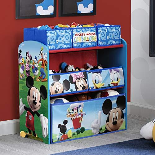 Delta Children Mickey Mouse Clubhouse Multi Bin