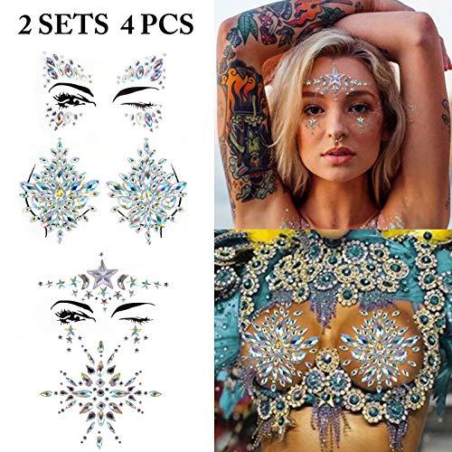 Body Tattoo Sticker, Fascigirl 4 Bohemian
