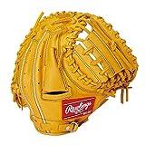 ローリングス(Rawlings) 野球用 ジュニア軟式 HYPER TECH R9 SERIES [キャッチャー用] ミットサイズ31.0 GJ1R92AFS ゴールドタン サイズ 31.5 ※右投用