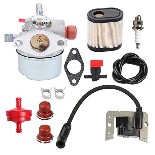 Trustsheer 640350 640271 640303 Carburetor for Tecumseh LEV100 LEV105 LEV120 LV195EA LV195XA Toro 20016 20017 20018 6 6.25 6.5 6.75 HP Recycler Lawnmower Engine Carb