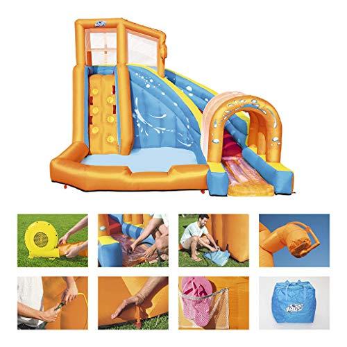 Kids Play Reproducir presentación de Oudoor Agua Inflable Infantil huracán túnel Piscina Parque de los Niños Inflable Water Park