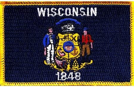 Innovative Overseas parallel import regular item Ideas Beauty products Wisconsin State Flag Patch