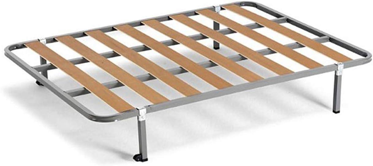 HOGAR24 ES Cama Completa - Colchón Flexitex + Somier Basic + 4 Patas de 32cm, 150x190 cm