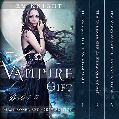 The Vampire Gift: Books 1-3     New & Updated 2019 Edition              By:                                                                                                                                 E. M. Knight                               Narrated by:                                                                                                                                 Melissa Moran                      Length: 24 hrs and 56 mins     5 ratings     Overall 3.8