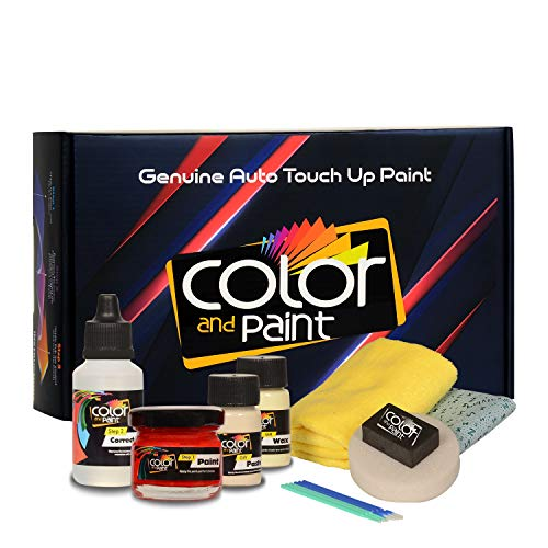 Color and Paint for Ford America Automotive Touch Up Paint - School Bus Yellow - B1 - Paint Scratch Repair, Exact Match - Basic