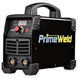 PrimeWeld 160A Arc/Stick Welder, 110V/220V Dual-Voltage Multipurpose Welder, Stick Welder Machine for Home or Jobsite Use, DC Stick Welder and Lift TIG Welder, 160Stick