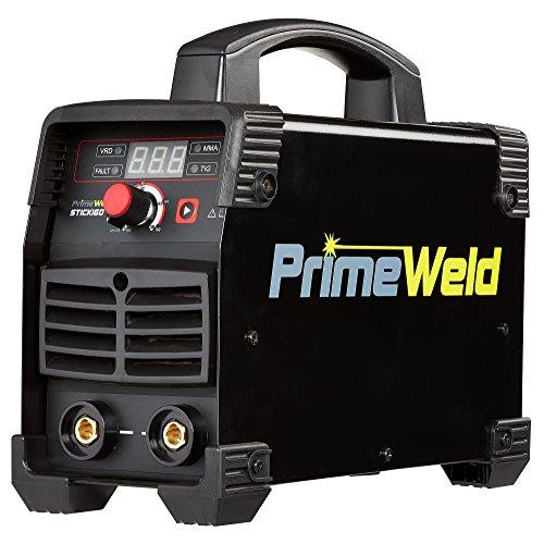 PrimeWeld 160A Arc/Stick Welder, 110V/220V Dual-Voltage Multipurpose Welder, Stick Welder Machine for Home or Jobsite Use, DC Stick Welder and Lift TIG Welder, 160Stick